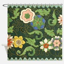 Chinese Pattern Vintage Pattern Cloisonne Shower C