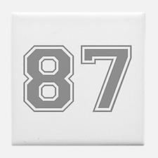 87 Tile Coaster