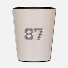 87 Shot Glass