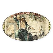 Vintage Scrooge Ghost of Christmas Present Decal