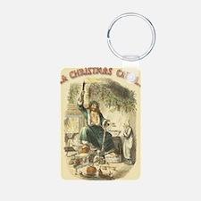 Vintage Scrooge Ghost of Christmas Present Keychai