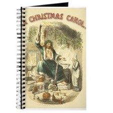 Vintage Scrooge Ghost of Christmas Present Journal