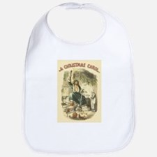 Vintage Scrooge Ghost of Christmas Present Bib