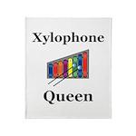 Xylophone Queen Throw Blanket