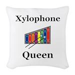 Xylophone Queen Woven Throw Pillow