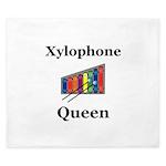 Xylophone Queen King Duvet
