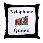 Xylophone Queen Throw Pillow