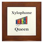 Xylophone Queen Framed Tile