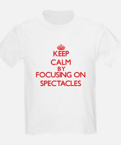 Keep Calm by focusing on Spectacles T-Shirt