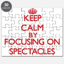 Keep Calm by focusing on Spectacles Puzzle