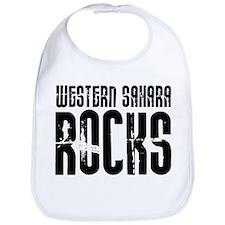 Western Sahara Rocks Bib