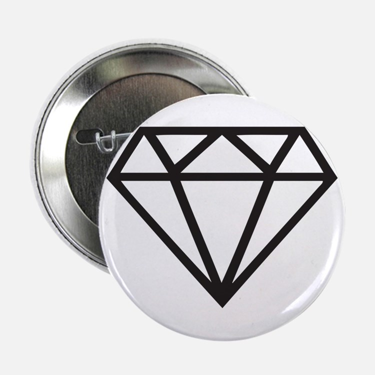 "Diamond 2.25"" Button"