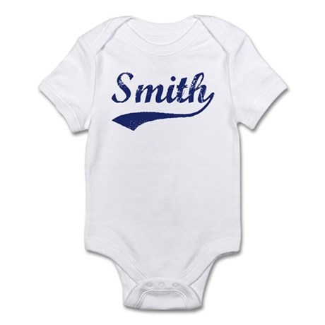 Smith - vintage (blue) Infant Bodysuit