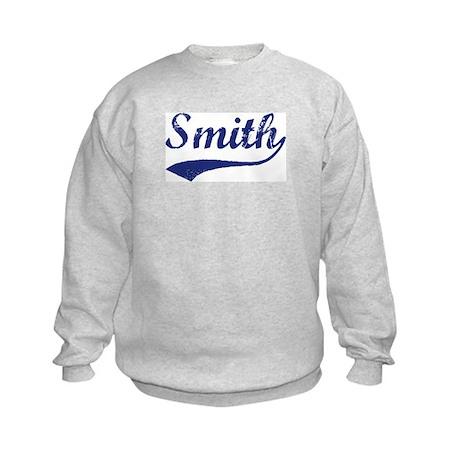 Smith - vintage (blue) Kids Sweatshirt