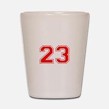 23 Shot Glass