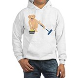 Curling Hooded Sweatshirt