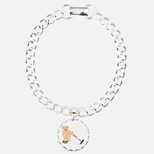 Golden Retriever Curling Bracelet