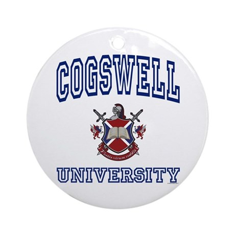 COGSWELL University Ornament (Round)