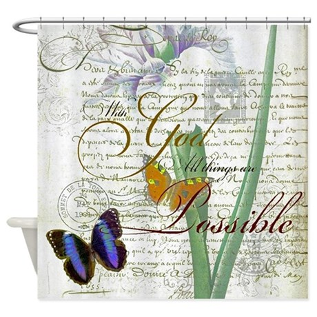 All Things Are Possible Shower Curtain By Admin CP59133934