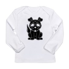 Sugar Puppy - Black Long Sleeve T-Shirt