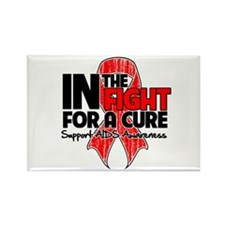 Cure AIDS Rectangle Magnet