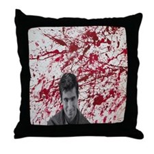 Norman bates Throw Pillow