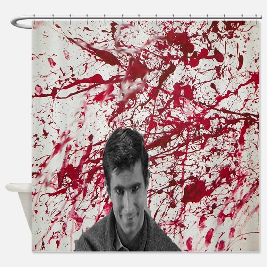 Norman bates Shower Curtain