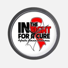 Cure Aplastic Anemia Wall Clock