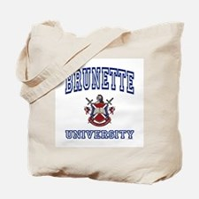 BRUNETTE University Tote Bag