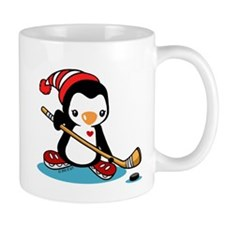 Ice Hockey Penguin Mug
