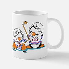 Ice Hockey Penguin Mug Mugs