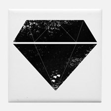 Diamond Grunge Tile Coaster