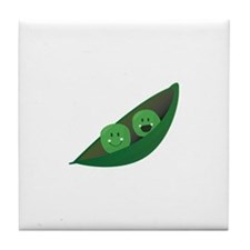 Two Peas Tile Coaster