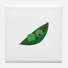 Two Peas Tile Coaster