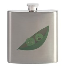 Two Peas Flask