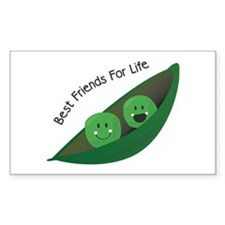 Best Friend Peas Decal