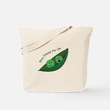 Best Friend Peas Tote Bag