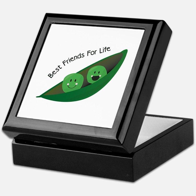 Best Friend Peas Keepsake Box