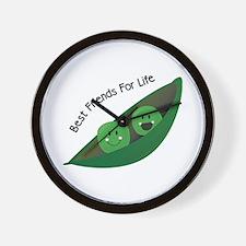 Best Friend Peas Wall Clock