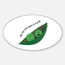 Two Peas in Pod Decal
