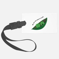 Two Peas in Pod Luggage Tag
