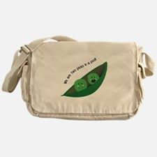 Two Peas in Pod Messenger Bag