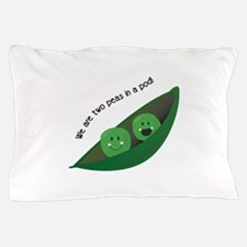 Two Peas in Pod Pillow Case