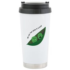 Two Peas in Pod Travel Mug
