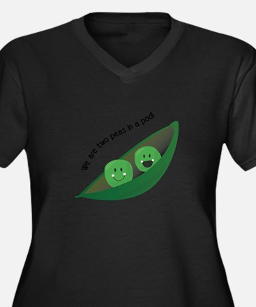 Two Peas in Pod Plus Size T-Shirt