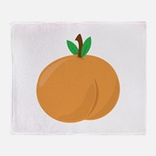Peach Throw Blanket