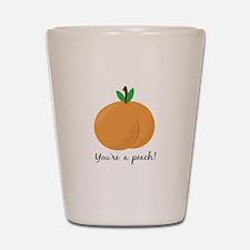 Youre a Peach Shot Glass