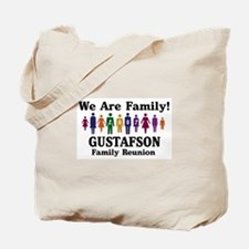 GUSTAFSON reunion (we are fam Tote Bag