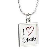 I Love Musicals Necklaces