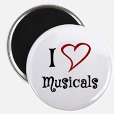 I Love Musicals Magnets